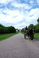 Carriage through Windsor Castle